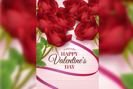 Bộ sưu tập hình ảnh thiệp chúc mừng lễ tình yêu Valentine 2019