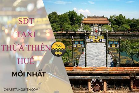 Taxi Huế - Số điện thoại các hãng taxi Huế cập nhật mới 2019