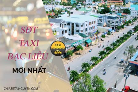 Taxi Bạc Liêu – Số điện thoại các hãng taxi tại Bạc Liêu 2019