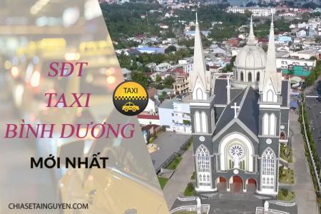 Taxi Bình Dương giá rẻ–  Danh bạ số điện thoại taxi uy tín tại Bình Dương