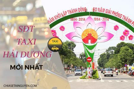 Taxi Hải Dương – Số điện thoại các hãng taxi Hải Dương chất lượng nhất