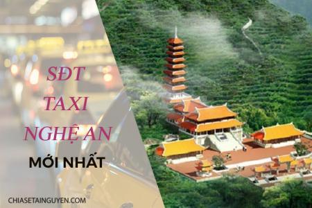 Taxi Nghệ An – Số điện thoại các hãng taxi Vinh - Nghệ An 2019