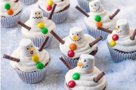 Top bánh kem giáng sinh, noel - Cupcake Christmas ngon đẹp mê ly