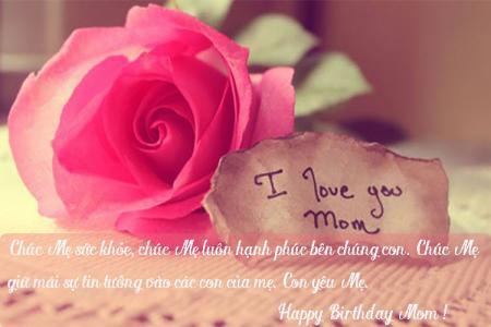 Tuyển chọn bộ thiệp và những lời chúc sinh nhật mẹ yêu ngọt ngào ý nghĩa nhất