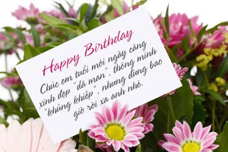 Chia sẻ bộ thiệp chúc mừng sinh nhật bạn gái kèm lời chúc dễ thương nhất