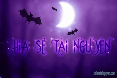 Hướng dẫn tạo hiệu ứng chữ halloween 2019