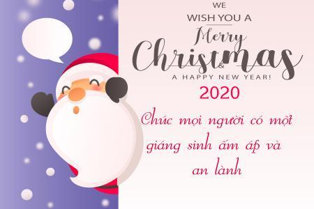 Hướng dẫn tạo thiệp giáng sinh 2019 online tuyệt đẹp