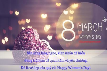 20+ Mẫu thiệp chúc mừng 8/3 đẹp dành tặng bạn gái, kèm những câu chúc 8/3 ý nghĩa tặng bạn gái ngày quốc tế phụ nữ