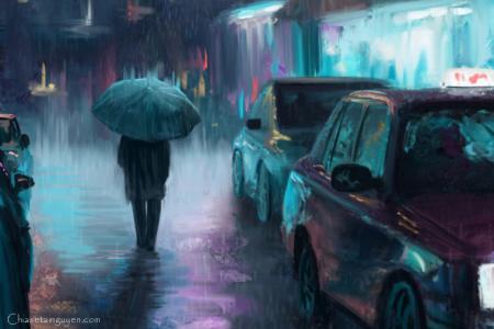 Chia sẻ những hình ảnh anime mưa buồn đẹp nhất