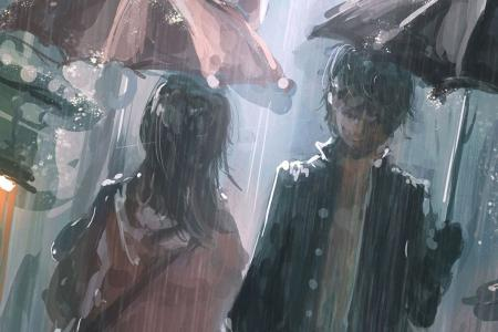 Chia sẻ bộ hình ảnh anime khóc dưới mưa buồn nhất, đẹp nhất