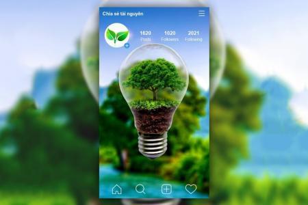 Hướng dẫn tạo background cho instagram online tuyệt đẹp
